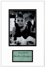 Audrey Hepburn Autograph Signed - Breakfast At Tiffany's